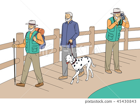 Different human daily life, ordinary and healthy lifestyle vector illustration 003 45430843