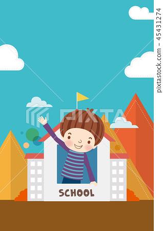 Illustration of The New Semester 45431274