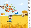 Chuseok Fairy Tales Illustration 45431320