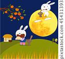 Chuseok Fairy Tales Illustration 45431393
