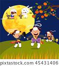 Chuseok Fairy Tales Illustration 45431406