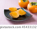 japanese, persimmon, fruit 45433132