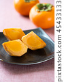 japanese, persimmon, fruit 45433133