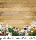 背景木五谷圣诞节装饰品 45435020