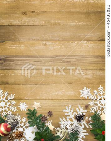背景木五谷圣诞节装饰品 45435021