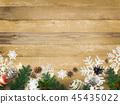 背景木五谷圣诞节装饰品 45435022