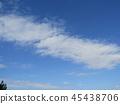 푸른 하늘, 파란 하늘, 청색 45438706