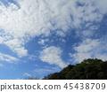 푸른 하늘, 파란 하늘, 청색 45438709