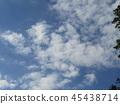 푸른 하늘, 파란 하늘, 청색 45438714