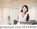 咖啡館共享辦公室coworking女人辦公室業務 45439090