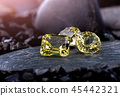 Lemon quartz gemstone jewelry. 45442321