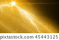 閃電 閃爍的 閃閃發光的 45443125