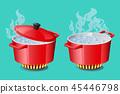 hot pan icon 45446798
