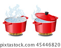 hot pan icon 45446820