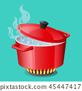 saucepan pan vector 45447417