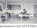 kitchen interior dining 45447883