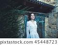 girl, female, autumn 45448723