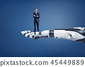 robot android businessman 45449889