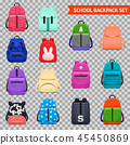 School Backpacks Transparent Collection 45450869
