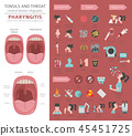 infographic, vector, medical 45451725