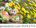 Painted Easter eggs  45452735