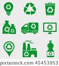 recycle garbage bin 45453953