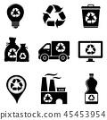 recycle garbage bin 45453954
