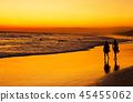 beach, couple, people 45455062