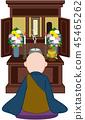 Buddhist altar 45465262