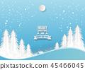 snow, tree, xmas 45466045