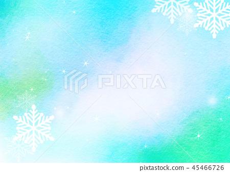 下雪的冬天背景 45466726
