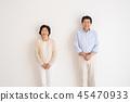 高级夫妇肖像 45470933
