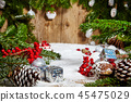 Beautiful Christmas background  45475029