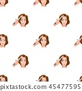 Hair curling in the hairdresser. Curling Hair single icon in cartoon style vector symbol stock 45477595