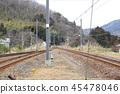 Track seen from unmanned station 45478046