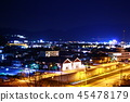 Night view in the countryside 45478179