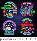 neon, sign, happy 45479114