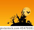 Halloween illustration 45479381