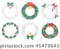 圣诞花环框架3 45479643