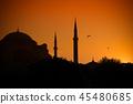 터키 이스탄불 블루모스크 45480685