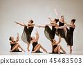ballet, dancer, dance 45483503