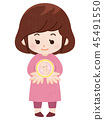 妊活 한 여성 이미지 45491550