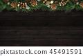 背景木五谷圣诞节装饰品 45491591