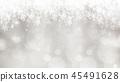 背景 - 雪 - 圣诞节 - 银 - 金葱 45491628
