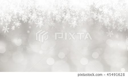 背景 - 雪 - 聖誕節 - 銀 - 金蔥 45491628