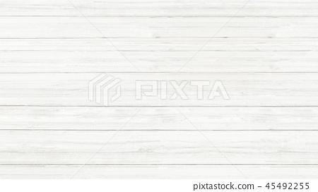 背景板木紋 - 白色 45492255