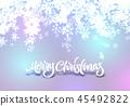 christmas, snow, background 45492822