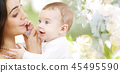 mother, baby, family 45495590