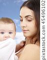 mother baby family 45496102