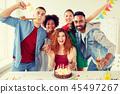 birthday, party, cake 45497267
